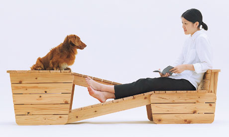 Dog and owner seat by Atelier