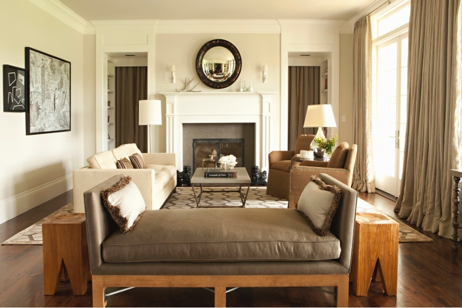 cream-brown-living-room